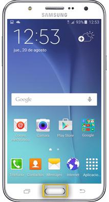 Alarma Calendario Samsung.Tutorial Activar Alarma Samsung Galaxy J5
