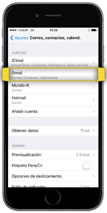 Recuperar Contactos Iphone Gmail
