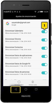 Calendario Huawei.Tutorial Sincronizacion De Contactos Y Calendario Huawei