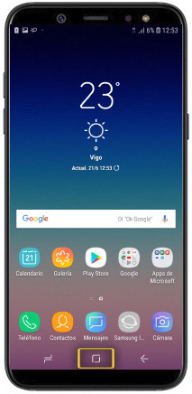 Alarma Calendario Samsung.Tutorial Activar Alarma Samsung Galaxy A6