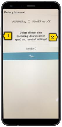 tutorial - hard reset del teléfono - lg q7